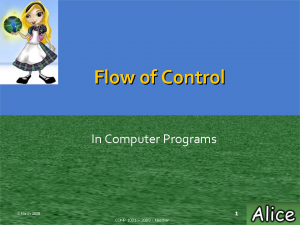 flow-of-control